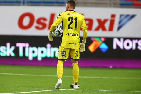 GOD: Anders Kristiansen var en av Sarpsborg 08s beste spillere mot Vålerenga til tross for at de tapte 1-4.