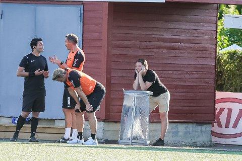 FORNØYD: FFK-leiren var fornøyd med prestasjonen, men skulle gjerne hatt flere poeng.