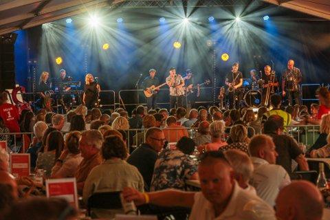 Odd René Andersen fikk æren av å headline åpningskvelden til Glommafestivalen 2021.