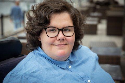 Sarah Naomi Lunner er den nye lederen for studentene ved HiØ.
