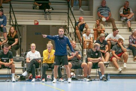 Elias Mar Halldorson var godt fornøyd med mye av det han så, men avslutningene til hans spillere var under pari torsdag.