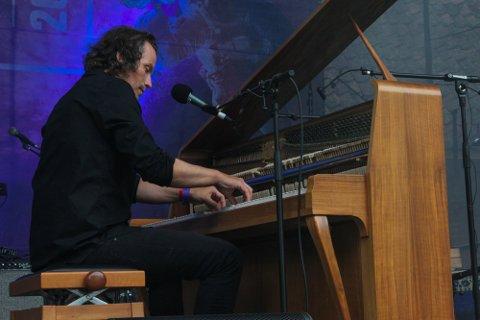 Andreas Ihlebæk spilte konsert under Månelanding tidligere i sommer.