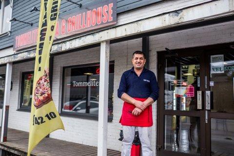 Innehaver Azad Ahmad Yarwali har investert og utvidet menyen på Tommeliten tidligere i år.