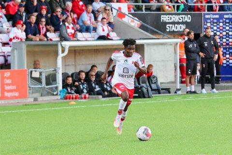 Tafoeek Ismaheel er FFKs heteste salgsobjekt. Fotballekspert Joacim Jonsson utelukker ikke at det kan komme et bud på nigerianeren på tampen av overgangsvinduet tirsdag.