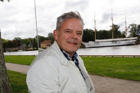 Ingar Guttormsen, kulturutvikler i Fredrikstad kommune.
