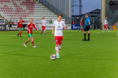 Jakob Lindström er usikker til onsdagens bortematch mot Stjørdals-Blink.