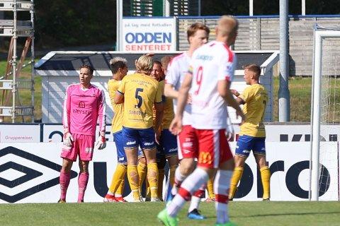 FFK tapte mot Jerv i Grimstad lørdag.