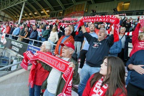 Fredrikstad Stadion kan nå ta inn 4.400 tilskuere på FFK-kamp, dersom de har gyldig koronasertifikat.