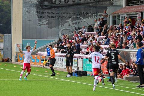 Det ble nok en seier for Bjørn Johansen og FFK. Men den satt langt, langt inne.