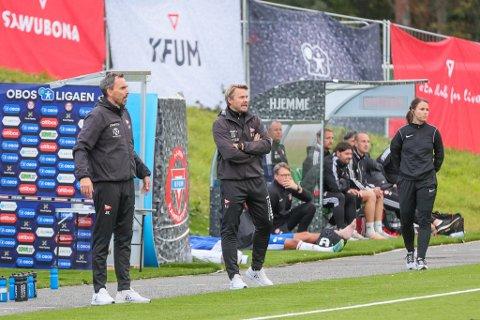Joakim Klæboe og Henrik Kjelsrud Johansen måtte konstatere et FFK-tap mot KFUM i Oslo.