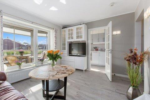 Akkurat nå ligger det fire innflytningsklare leiligheter til salgs for under to millioner kroner i Fredrikstad. Denne  på 27 kvadratmeter på Gudeberg er en av dem.