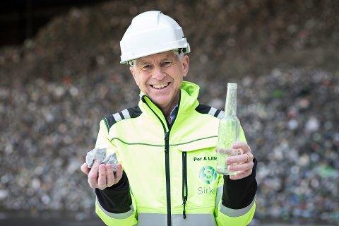 Administrerende direktør i Sirkel Materialgjenvinning AS, Per Annar Lilleng, mener salget av fabrikken i Onsøy er bra for alle parter.  Foto:Redink