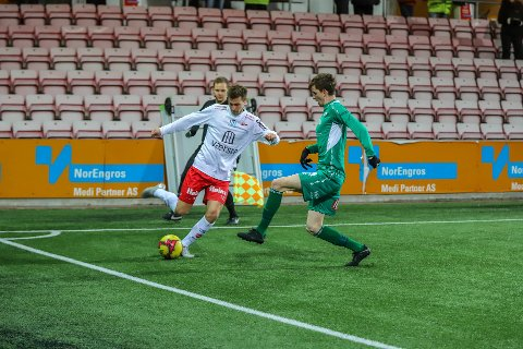 Nicolay Solberg ble matchvinner for FFK søndag. Det samme gjentok seg mandag.