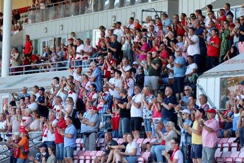Billettsalget til lørdagens kamp på Fredrikstad Stadion har på ingen måte tatt av.