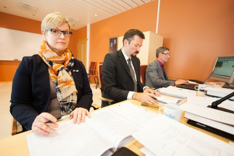 Viveka Terräs (H) ble valgt som varaordfører og Svein Erik Kristiansen (H) fikk fornyet tillit som ordfører.