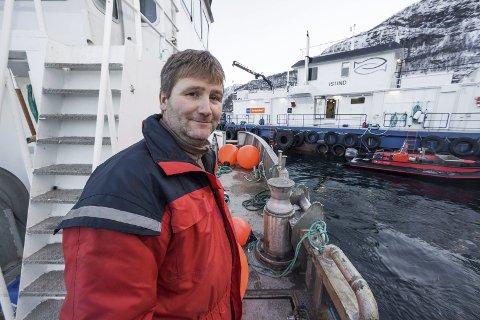 Daglig leder Tore Lundberg i Gratanglaks AS