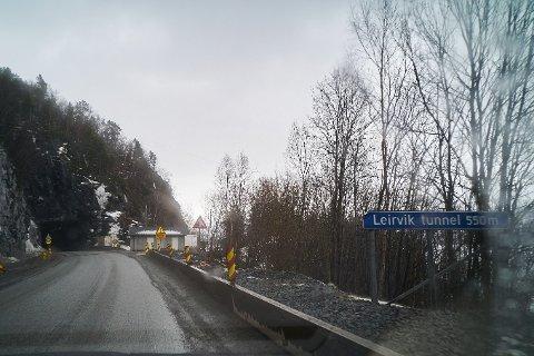 Leirviktunnelen. Arkivfoto: Kristoffer Klem Bergersen