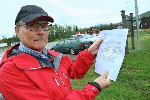 Barduordfører Arne Nysted er åpen for forhandlinger om etablering av fengsler. Noe man ikke er foreløpig i Lyngen. (Foto: Stein Wilhelmsen)
