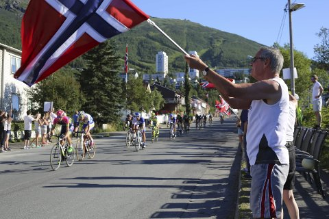 Arctic Race of Norway - her fra etappen i Narvik i 2015.