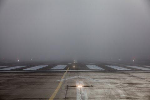 Tåke, Evenes, Harstad/Narvik lufthavn, vær