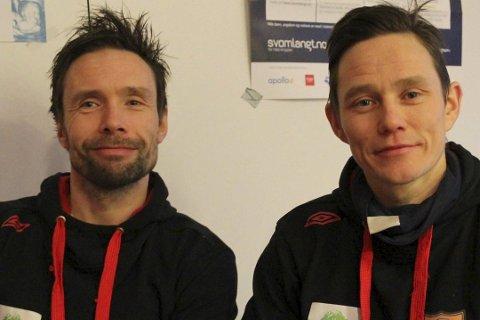 Nå ligger disse gutta på andreplass i Eliteserien.
