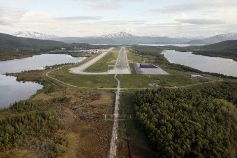 Nå er ordren gitt om å bygge ut Evenes flystasjon.