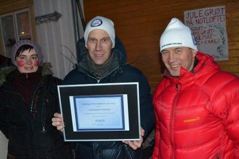 Tor Einar Svendsen var den første som mottok prisen.
