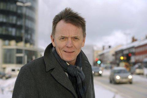 I VINDEN: Administrerende direktør i Sparebanken Narvik, Elling Berntsen, vil ha et nytt Narvik-image.