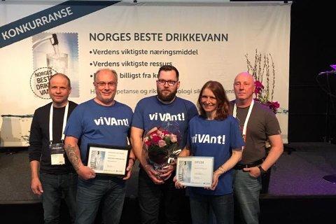 Drikkevannet i Narvik ble kåret til Norges beste i 2016. Kan de vinne igjen? Arkivfoto