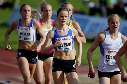 Yngvild Elvemo løp inn til en andreplass under Uurrooster Gala 2016 i Belgia.