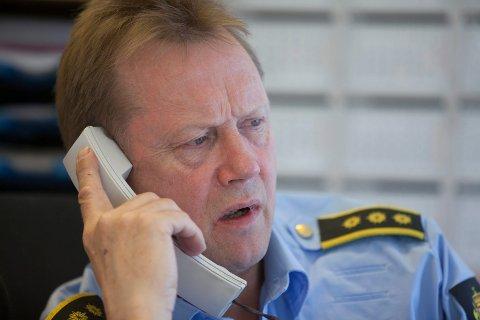 Politistasjonssjef Morten Hole.