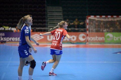 Det unge Byåsen-laget til Marit Røsberg Jacobsen tapte knepent.