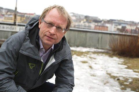 Bjørnar Mikkelborg, leder i Narvik skiklubb, håper på støtte fra kommunen til fullfinansieringen av turveien i Tøttadalen.