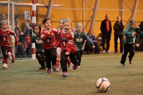 Lørdag blir jentenes dag i Narvikhallen.