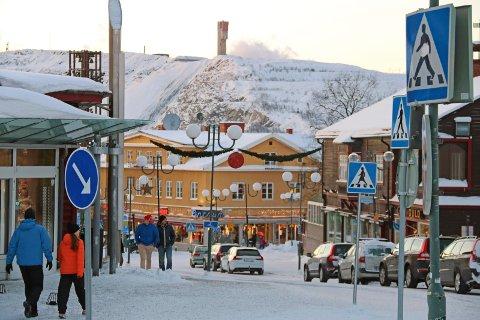 RAMMET: Kiruna har den siste tiden opplevd flere innbrudd.