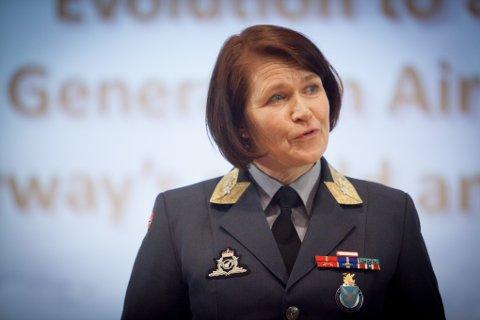 Tonje Skinnarland, generalmajor, sjef Luftforsvaret