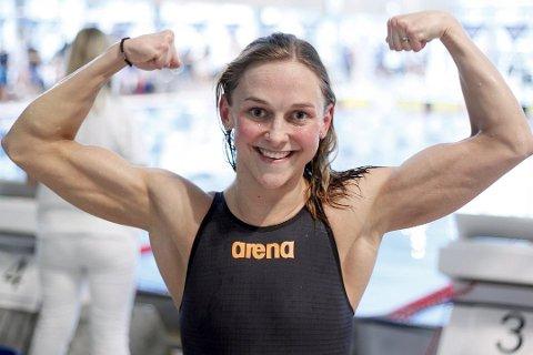 Imponert: Katharina Stiberg er imponert over prestasjonene fra 16 år gamle Ingeborg Vassbakk Løyning under NM i helga.