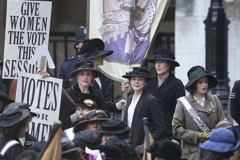 KVINNEKAMP: Filmen «Suffragette – Kampen for frihet» skal vises når Sanitetskvinnene inviterer til filmvisning 8. mars. (Arkivfoto)