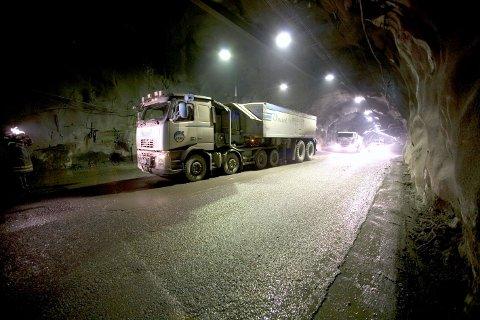 Arkivfoto. Bildet er fra LKABs gruve i malmberget.