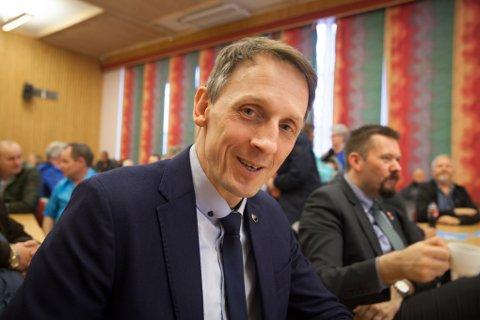 Ordfører Tom Myrvold i Ørland