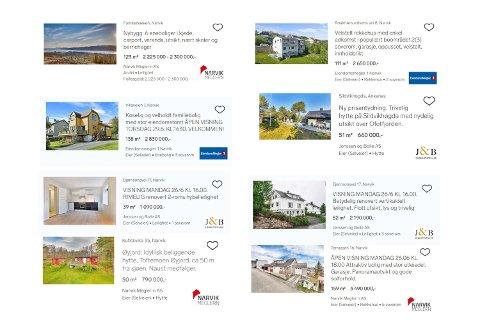 Endelig har markedet i Narvik løsnet, etter en treg vinter ligger det nå over 80 boliger til salgs.