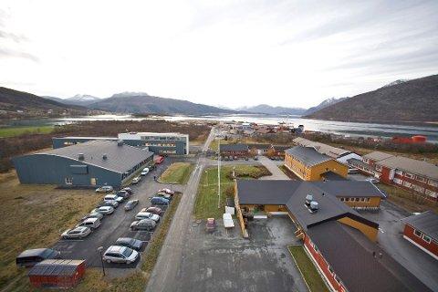 Norges brannskole på Fjelldal i Tjeldsund