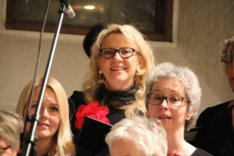 Solist: Aud Lia er en av solistene under korkonserten som Sangvirkelaget og Enevja inviterer til fredag og søndag.
