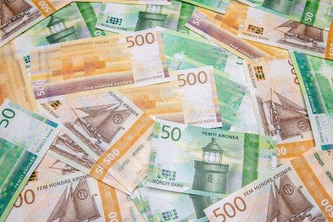 De nye sedlene kommer i slutten av oktober. Foto: Norges Bank / NTB scanpix