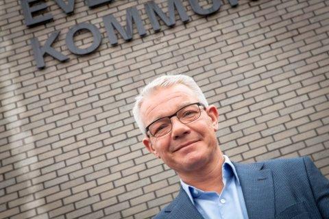 Rådmann Rolf M. Lossius i Evenes kommune har ventet på den statlige reguleringsplanen.