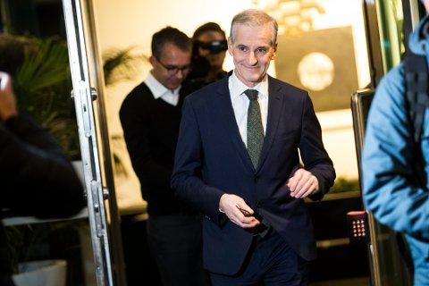 Dersom dagens måling hadde blitt valgresultatet ville Jonas Gahr Støre blitt Norges nye statsminister. Foto: TROND REIDAR TEIGEN / NTB scanpix