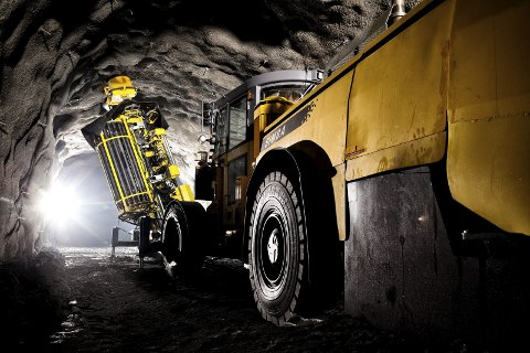 REKORD: Med 7,6 millioner tonn, ble det rekordnotering for LKAB i tredje kvartal. Foto: Fredric Alm