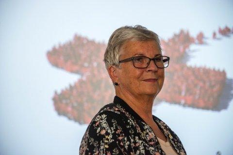 Ann-Rigmor Lauritsen, distriktsleder i Nordland Røde Kors. Foto: Trond Walter Svendsen