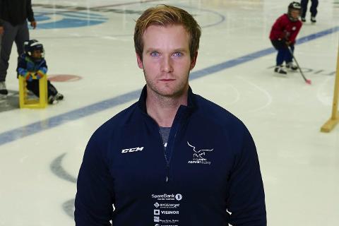 SPORTSLIG LEDER: Martin Persson, Narvik Hockey.