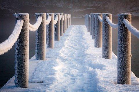 Fra torsdag kan det bli bitende kaldt i Ofoten.